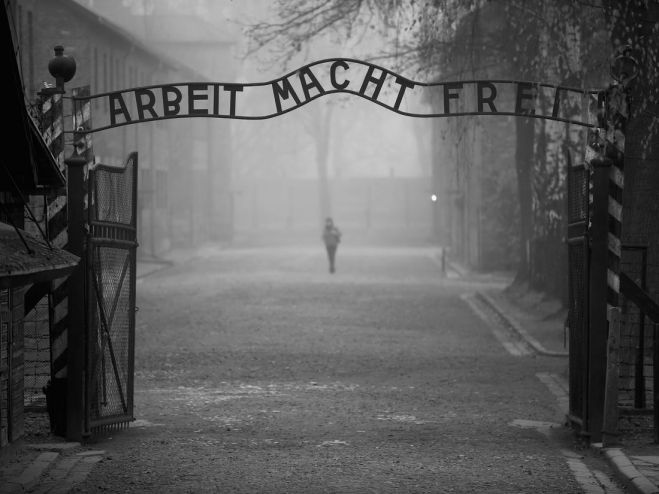 """75 years after Auschwitz – Holocaust Education and Remembrance for Global Justice""."