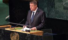 Discursul lui Iohannis la Adunarea Generală a ONU de la New York