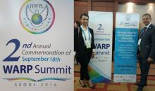 Summitul Aliantei Mondiale pentru Culte si Pace - SEUL 2016