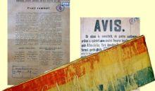 Exponatul lunii noiembrie: Eșarfa tricoloră a lui Ovidiu Gritta