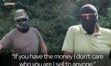 Reportaj Sky News cu traficanti de arme in Romania. DIICOT face verificari