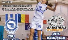 BASCHET: CSU Alba Iulia - CEZ Basketball Nymburk