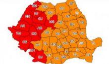 Cod ROȘU de caniculă: Harta zonelor afectate