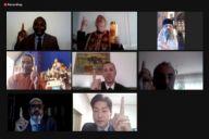 Întâlnirea Online de Rugăciune Interconfesională HWPL Transmite un Mesaj de Speranță pentru Învingerea COVID-19