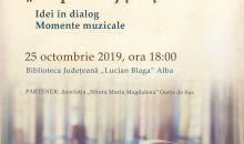 """""""Despre curaj și lașitate"""" este tema lunii octombrie a Seratelor Bibliotecii Județene """"Lucian Blaga"""" Alba"""